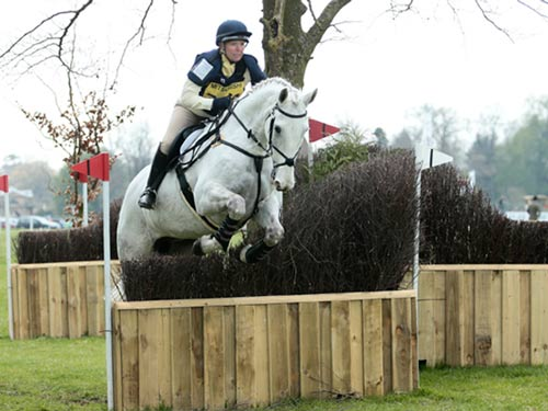 Lorna Walker on Callimore Diamond George